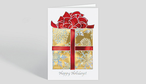 Christmas Wishes Holiday Card